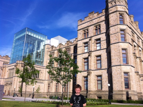 Alistair and the Canadian Museum of Nature